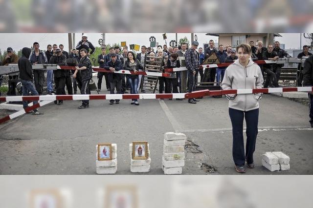 Angriff auf Slawjansk