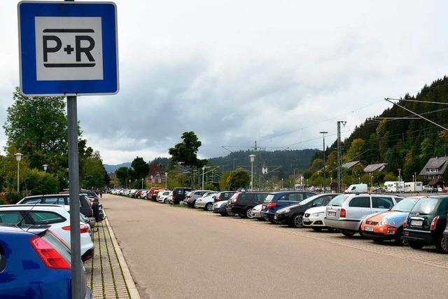 Zehnerkarte für den Park & Ride Parkplatz kommt