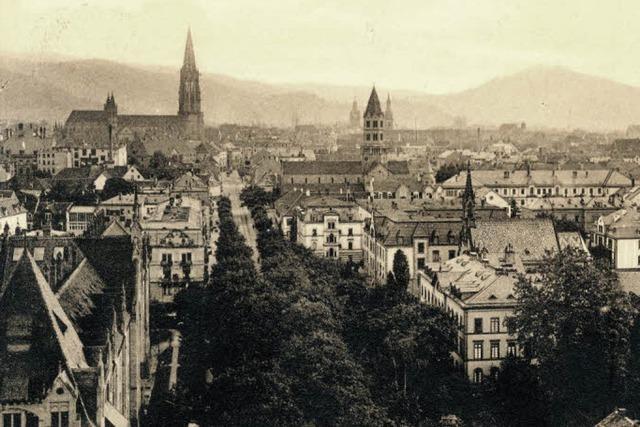Der Blick aufs Quartier Neuburg - 1910 und heute