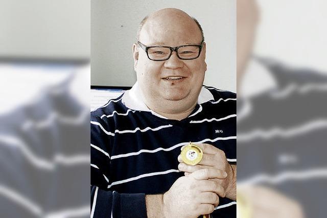 Jürgen Braun erkämpft sich die Goldmedaille