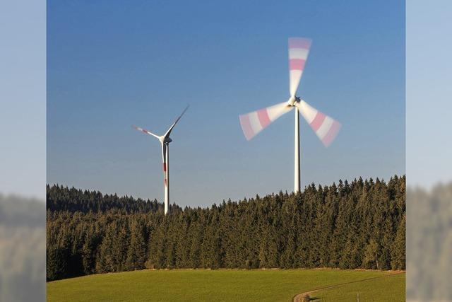 Zähes Ringen um die Windkraft