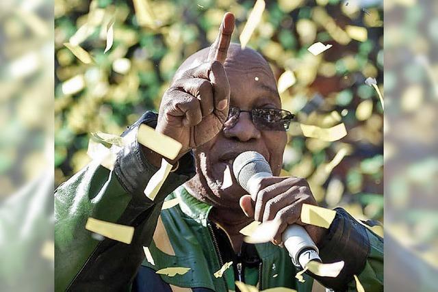 Regierungspartei ANC vor Parlamentswahl in der Kritik