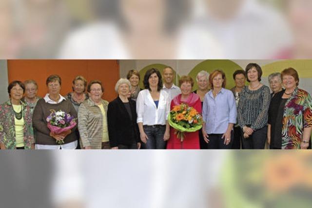 Susanne Eichin übernimmt Vorsitz beim Frauenchor Eimeldingen