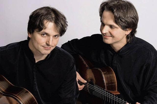 Akustischer Gitarrenmusik: Peter und Zoltan Katona in Badenweiler
