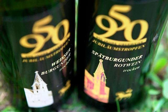 Festwein zur 950-Jahr-Feier von Oberweier im Verkauf