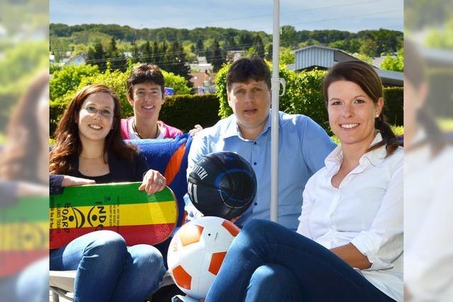 Sportfest und Saisonauftakt im Lörracher Freibad