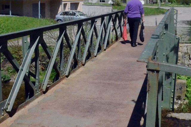 Friedhofsbrücke wird erneuert - und künftig aus Alu sein