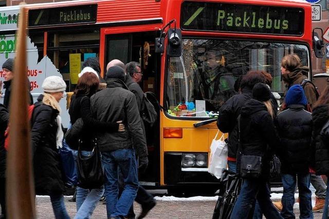 Zu teuer: Händler streichen den Freiburger Päcklebus