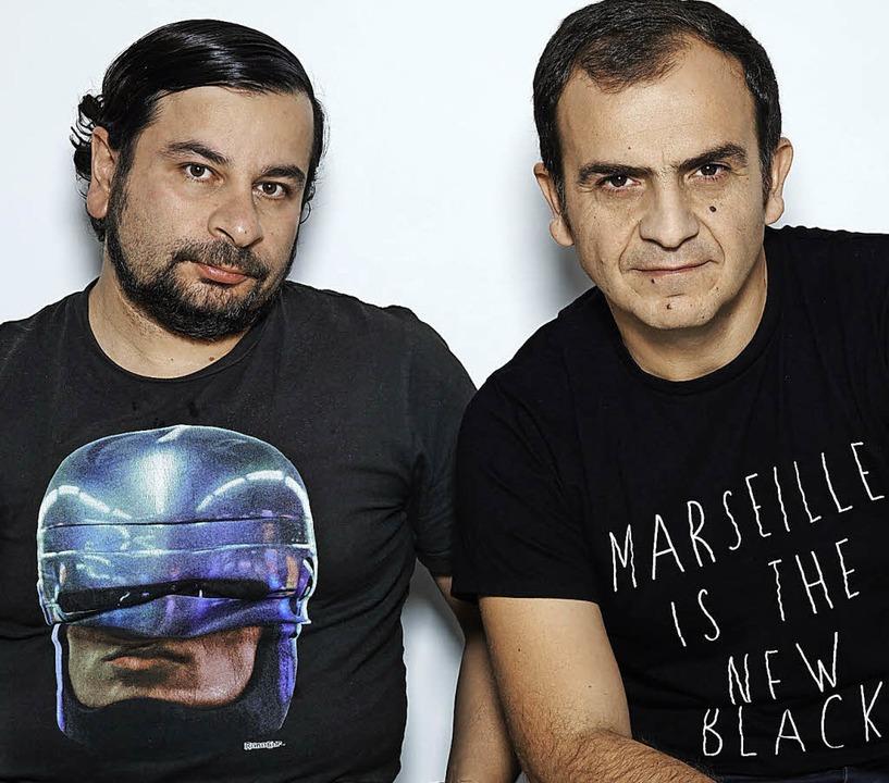 Imran Ayata (links) und Bülent Kullukcu   | Foto: Trikont/Eugen Haller