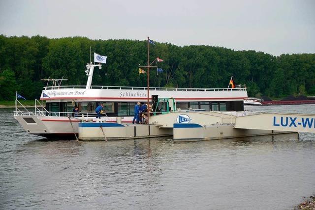 Leinen los – MS Schluchsee auf dem Rhein