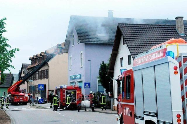 Küchenbrand in Nonnenweier