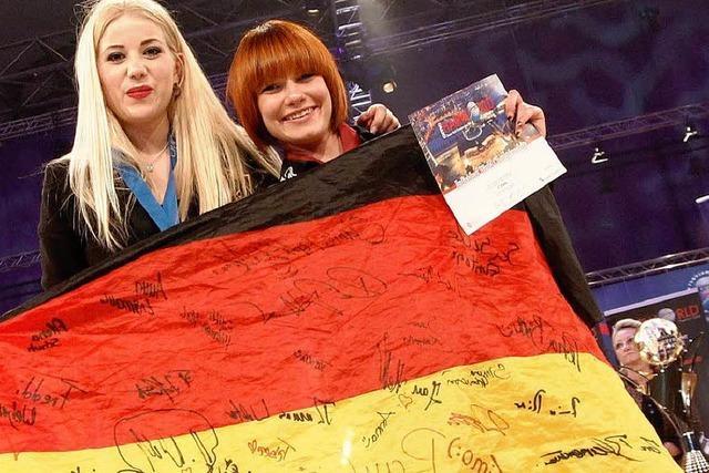 Friseur-WM: Gold und Silber in den Kreis Lörrach
