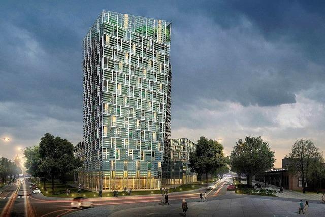 Freiburg bekommt einen 51 Meter hohen Power-Turm