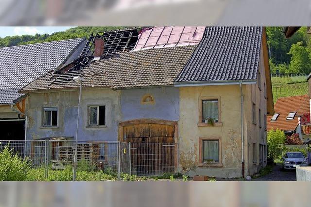 Brandruine sorgt weiter für Kopfzerbrechen bei Ortschaftsräten in Herten