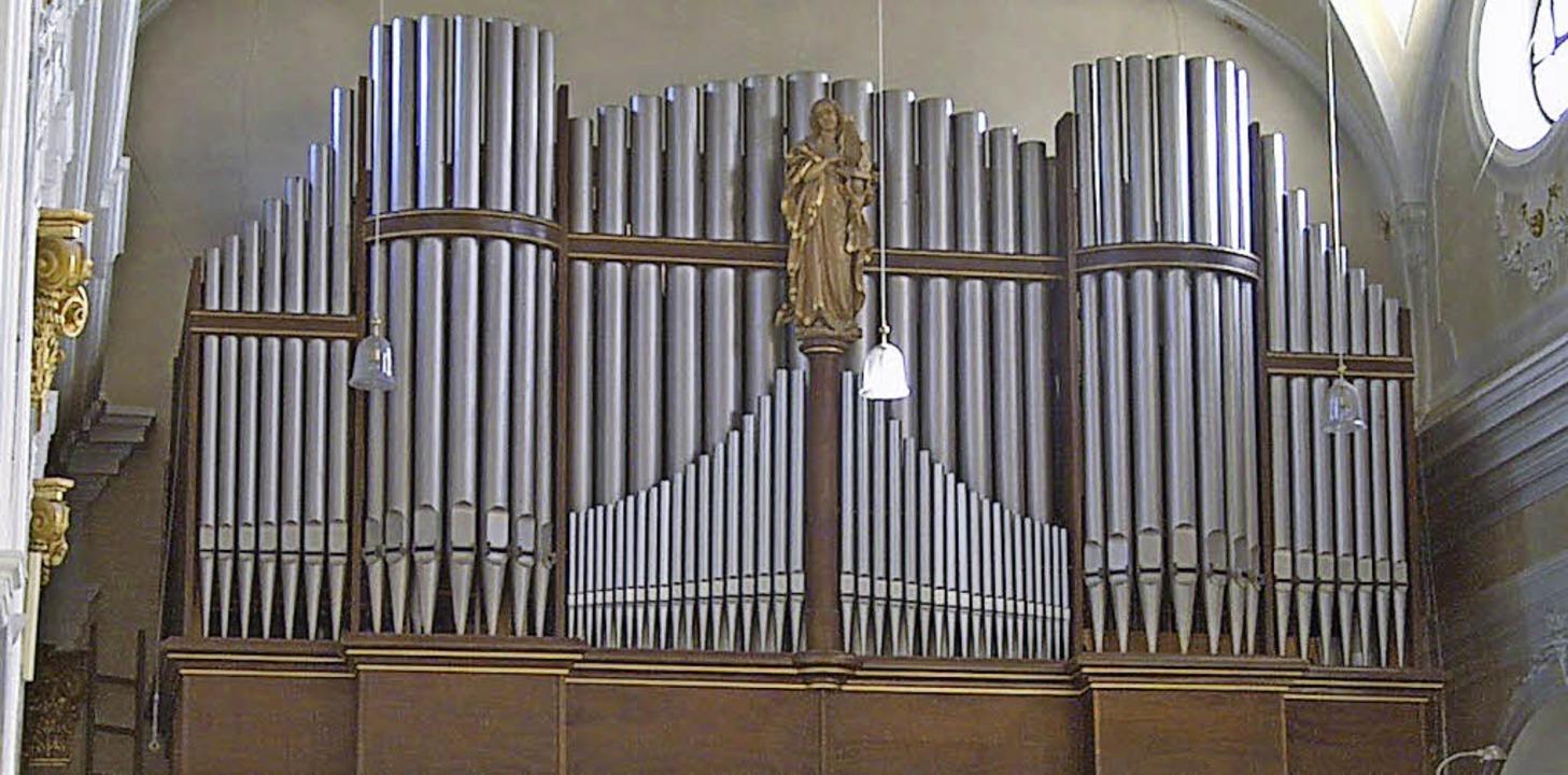 Die Dold-Orgel steht nun in der Gedächtniskirche in Auschwitz.     Foto: Bader