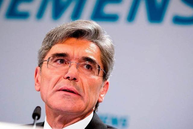 Siemens-Chef Kaeser krempelt das Unternehmen um