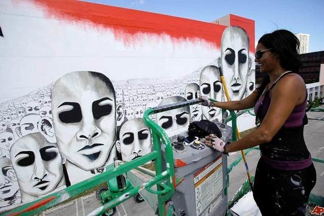 Kunsthalle sucht Wände für Streetart-Künstlerin