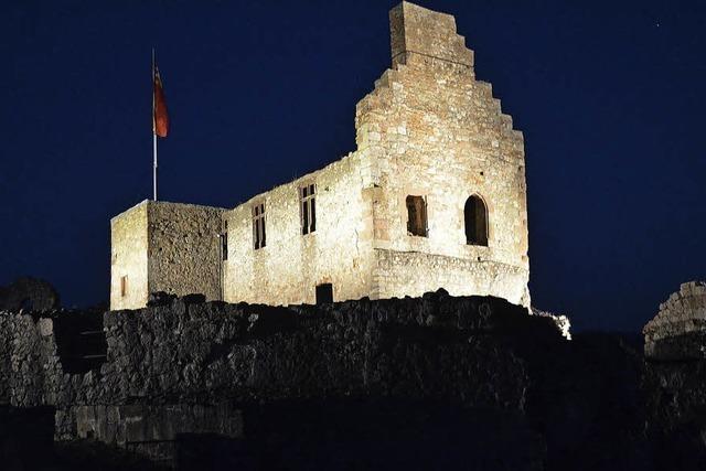 Ein Informationszentrum für die Burg