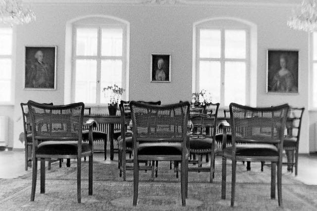 Als im Ratssaal noch Perserteppiche lagen