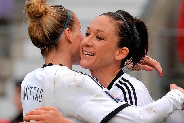 Frauen machen einen großen Schritt zur WM 2015