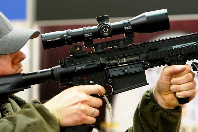 Kleinwaffen-Exporte aus Deutschland boomen wie nie