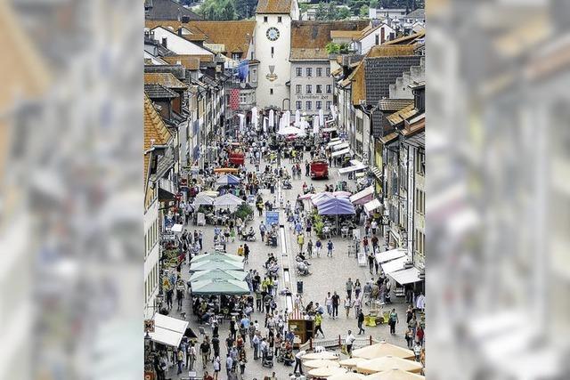 Waldshuts Handel feiert seine autofreie Innenstadt