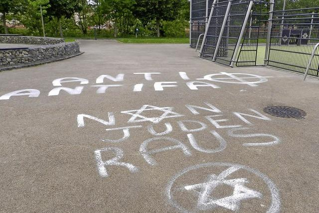 Antisemitische Parolen am Hüninger Skaterpark