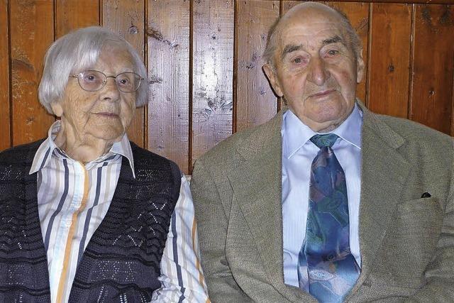 Seit 65 Jahren halten sie zusammen