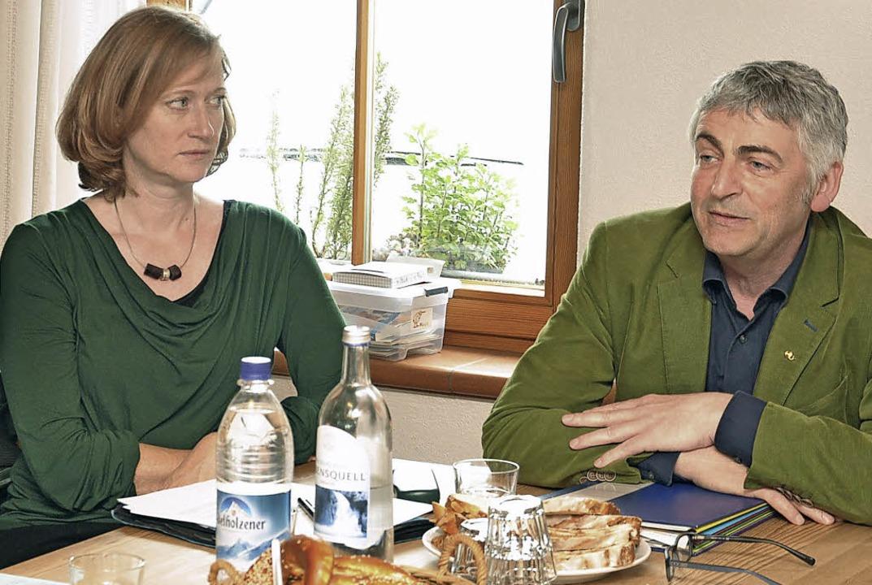 Martin Häusling, landwirtschaftspoliti... Verbrauchern Fragen der Agrarpolitik.  | Foto: Kai Kricheldorff