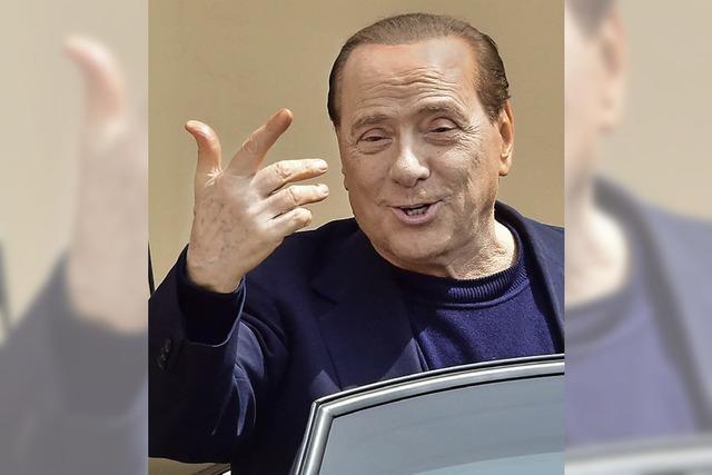 Berlusconi tritt Job im Altersheim an