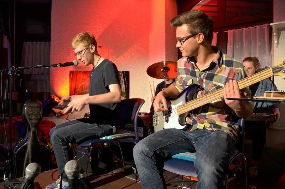 Pop im Treffpunkt Gambrinus mit Lukas Herbertson und Co.  | Foto: Martin Herceg