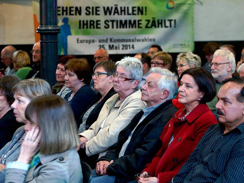 Blick ins Publikum  | Foto: Christoph Breithaupt, Christoph Breithaupt