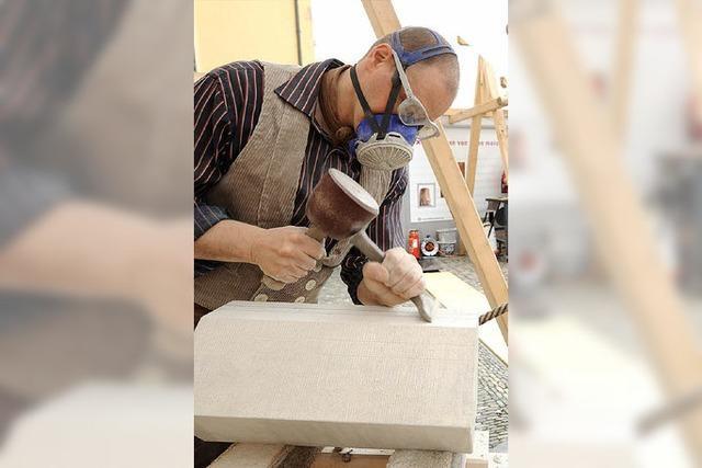 Handwerker beim Münsterbau: Eine kleine Zeitreise ins Mittelalter