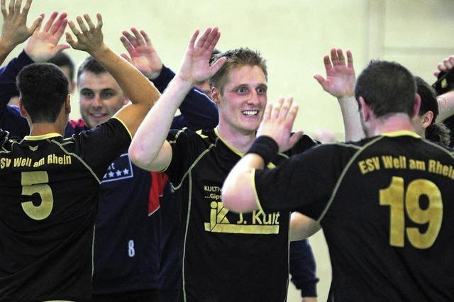 Weiler Handballer haben das erste Etappenziel erreicht