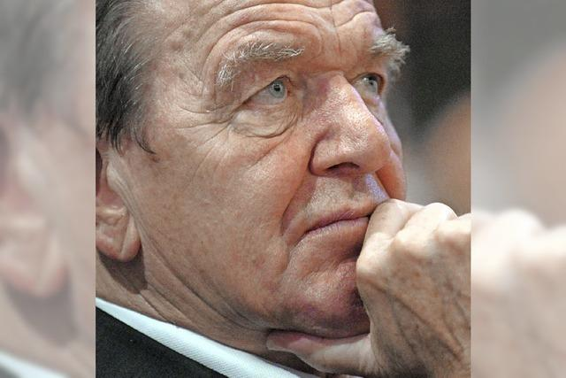 Schröder plädiert für Gespräche auf Augenhöhe