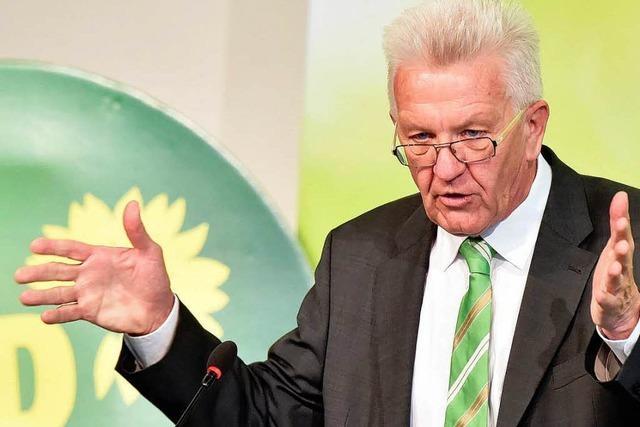 Grünen üben sich auf ihrem kleinen Parteitag in Optimismus