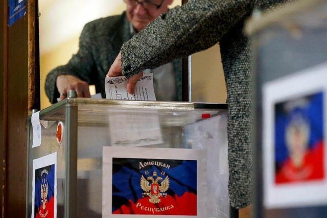 Kreml: Kiew muss Referendum in Ostukraine praktisch umsetzen