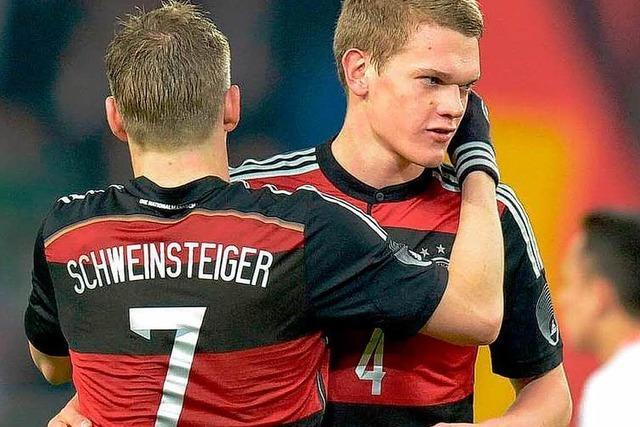 Matthias Ginter fährt zur WM – zumindest aus Sicht der BZ-Leser