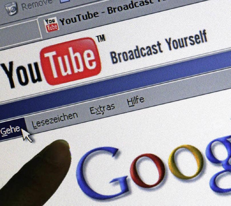 Youtube gehört zu Google und will das neue Fernsehen sein.   | Foto: dpa