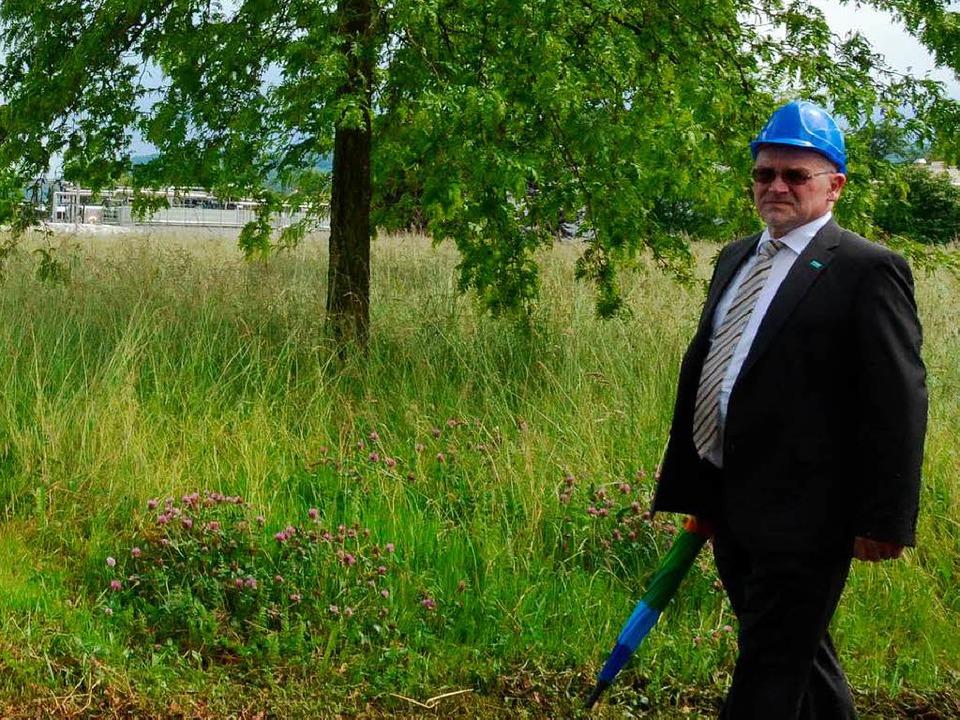 Bernd Brian in der Kesslergrube  | Foto: Ralf H. Dorweiler