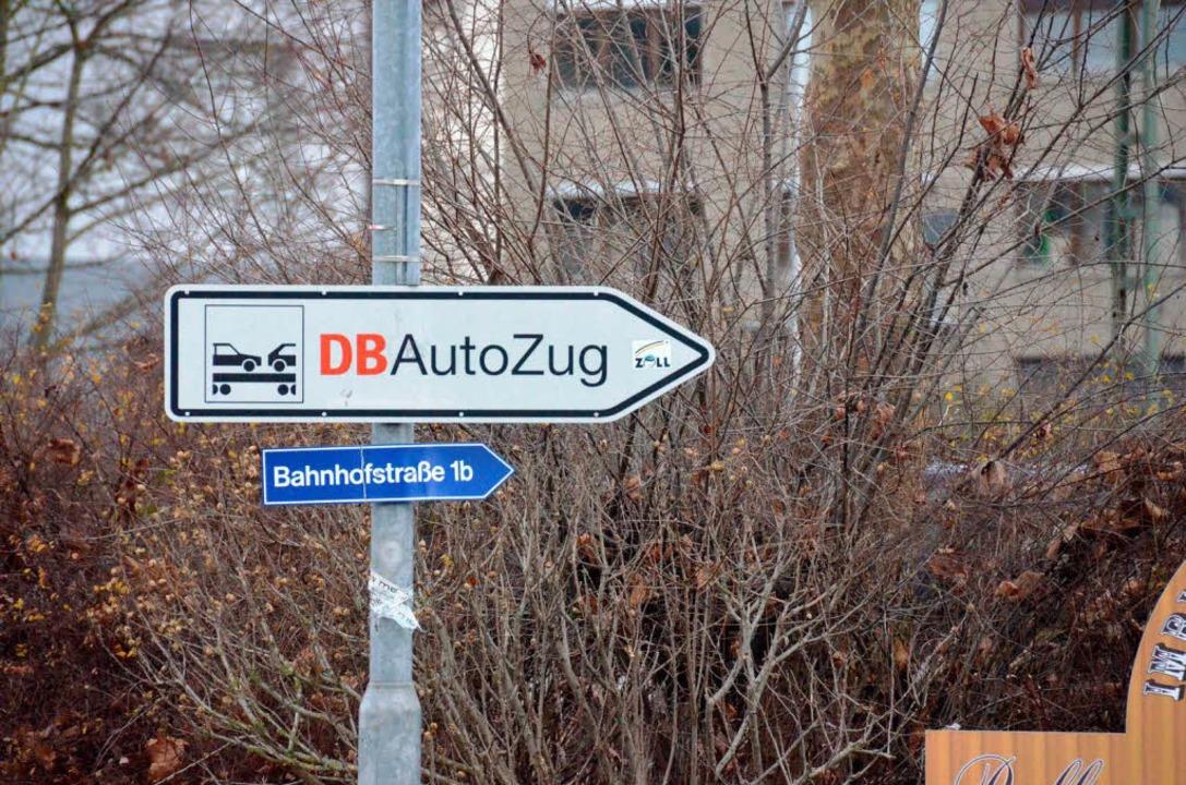 Die Lösung 1a – der klassische A... Die Bahn tüftelt an einer Lösung 1b.   | Foto: Nikolaus Trenz