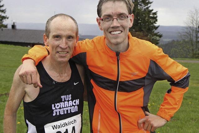 Victor Larisch wird Zweiter beim 33. Kandel-Berglauf