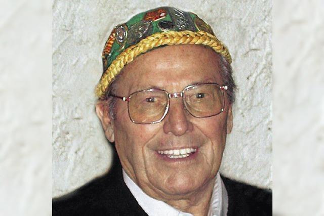 Der Chef der Hexenzunft, Walter Pfeiffer, ist tot