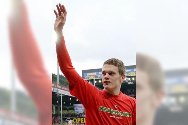 Matthias Ginter darf mit zum WM-Casting