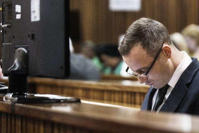 Pistorius muss in die Psychiatrie - Prozess unterbrochen