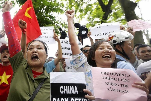 Territorialstreit mit China gerät außer Kontrolle