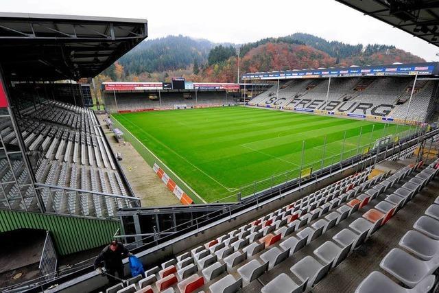 Zu viele Pfosten, zu kleines Spielfeld: DFL rügt SC-Stadion