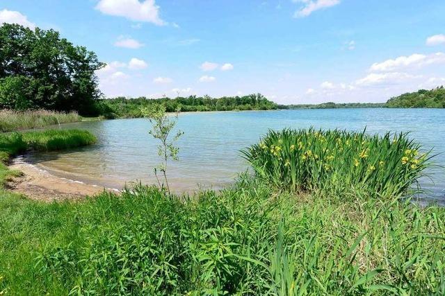Opfinger See soll zum Naherholungsgebiet werden