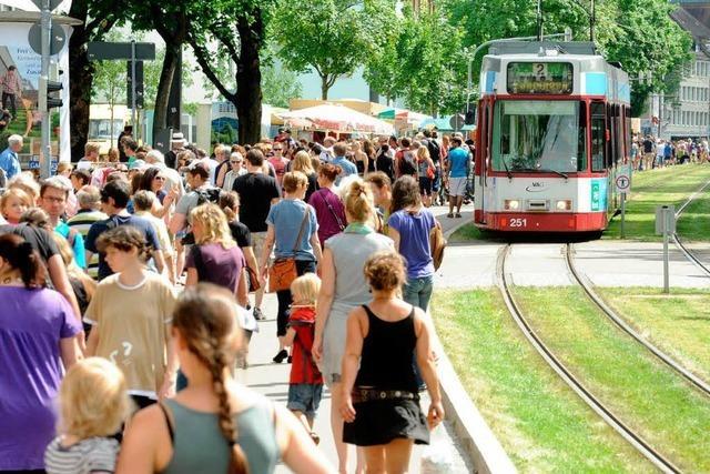 Der XXL-Flohmarkt in der Habsburgerstraße kommt wieder
