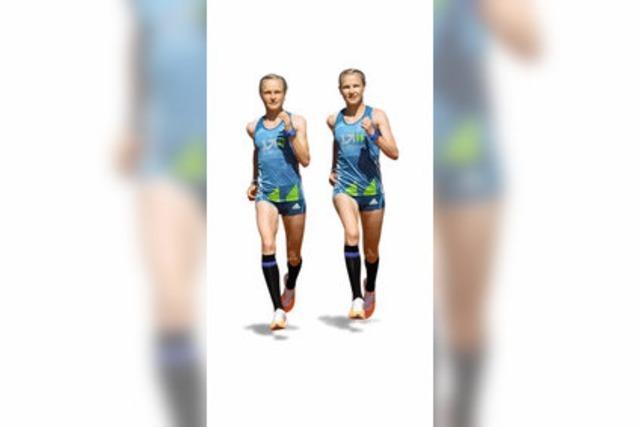 Wiener Walzer und Samba - die Marathon-Zwillinge Hahner